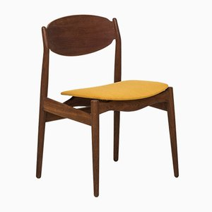 Teak and Oak Dining Chair by Erik Buck for Vamo