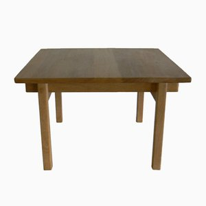 Oak Square Dining Table by Kurt Ostervig for K.P. Møbler, 1965