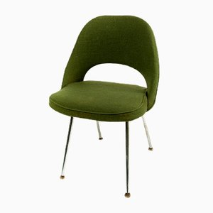 Grüner Mid-Century Stuhl von Eero Saarinen für Knoll, 1958