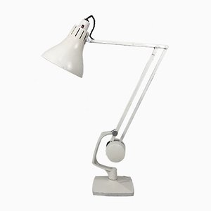 Industrielle Britische Schreibtischlampe von Hadrill Horstman, 1950er