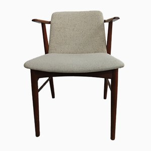 Mid-Century Danish Teak Armchair by Hans Olsen for Bramin, 1960s
