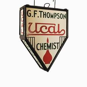 Pharmacy Sign, 1930s