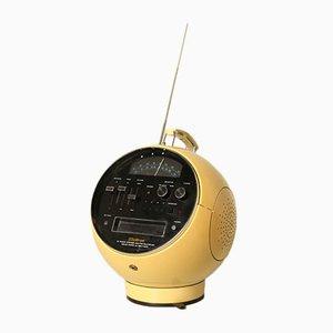 Rundes Vintage Radio von Weltron
