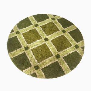 Grüner Rya Hochflor Teppich von Desso, 1970er