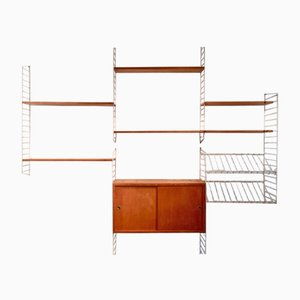Wall Unit by Nils Strinning for String, 1960s