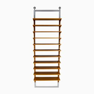Danish Wall Shelving Unit by Poul Cadovius for Cado, 1960s
