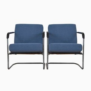 Vintage Swiss Armchairs by Werner Max Moser for Embru