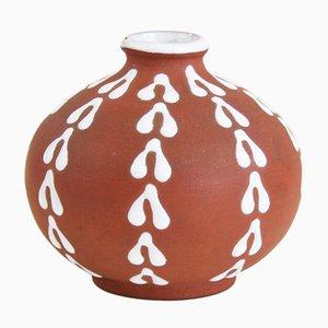 Mid-Century Vase von Edith Nielsen für Zeuthen Keramik