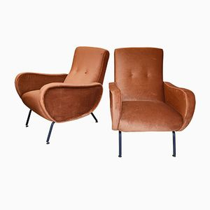 Vintage Lady Stühle von Marco Zanuso, 2er Set