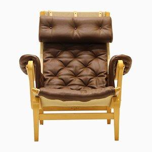 Swedish Pernilla Easy Chair by Bruno Mathsson for Dux, 1960s