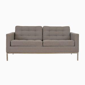 Zwei-Sitzer Mid-Century Sofa von Florence Knoll für Knoll