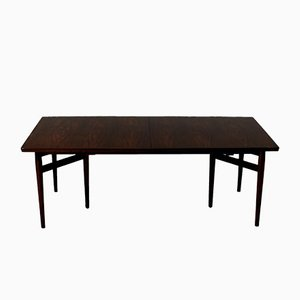 Vintage Extendable Rosewood Dining Table by Arne Vodder for Sibast