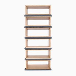 Stack Storage Six-Tier Wood Open Shelves from Debra Folz Design