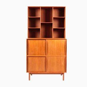 Vintage Teak Cabinet by Peter Hvidt & Orla Mølgaard-Nielsen for Søborg, 1950s