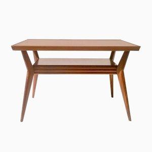 Art Deco Italian Mahogany Coffee Table, 1930s