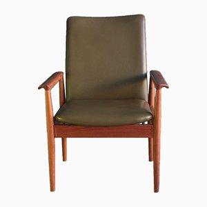 Chaise Diplomat Vintage par Finn Juhl pour Cado, 1961