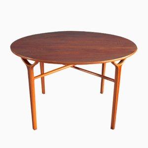 Vintage Ax Coffee Table by Peter Hvidt & Orla Mølgaard-Nielsen for Fritz Hansen
