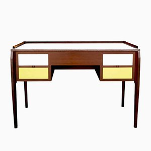 Walnut and Laminate Desk by Gio Ponti, 1950s
