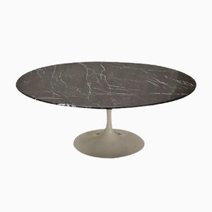 Vintage Black Tulip Coffee Table by Eero Saarinen for Knoll international