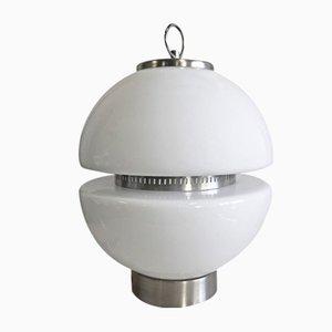 Lampe de Bureau en Verre, Italie, 1970s