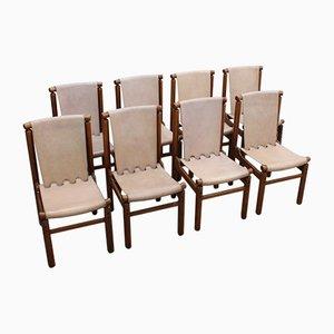 Mid-Century Esszimmerstühle von Ilmari Tapiovaara für La Permanente Mobili Cantù, 4er Set