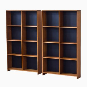 Domi 14 Bookshelves by Nils Jonsson for Hugo Troeds, 1950s, Set of 2