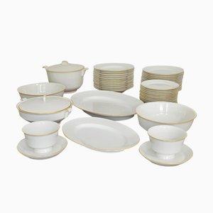 Halle´sche Form Porcelain Dining Service by Marguerite Friedlaender for KPM Berlin, 1934
