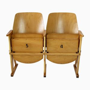 Vintage Cinema Two-Seater from TON, 1960s