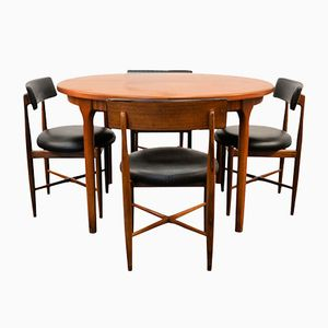 Vintage Dining Set in Teak by Victor Wilkins for G-Plan