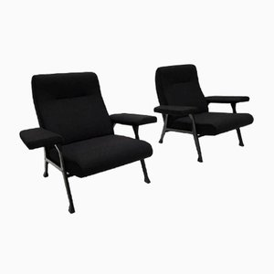 Model Hall Lounge Chairs by Roberto Menghi for Arflex, 1958, Set of 2