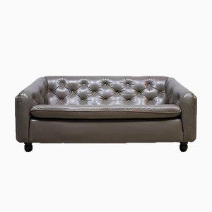 Canapé Vintage en Cuir par Geoffrey Harcourt pour Artifort