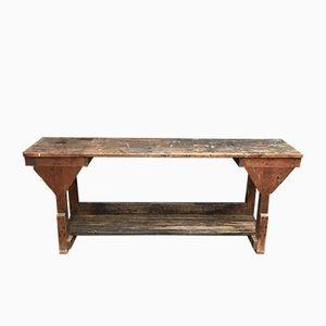 Vintage Bakery Table