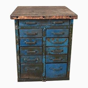 Militärischer Vintage Werktisch