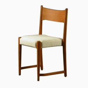 Vintage Danish Dining Chair of Aarhus City Hall by H. J. Wegner for Plan Møbler, 1940s