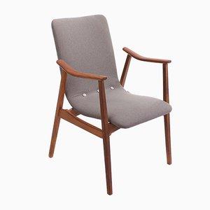 Vintage Armlehnstuhl von Louis van Teeffelen für Webe