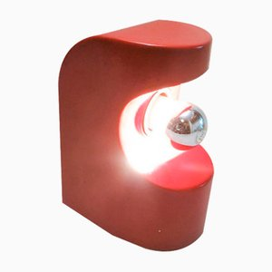 Red Table Lamp, 1960s