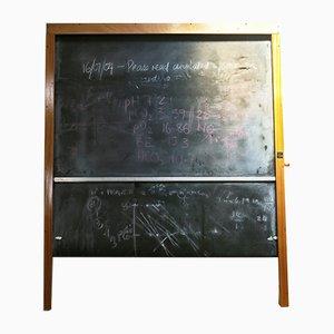 Scottish Large School Revolving Roll Blackboard from Wilson and Garden, 1950s
