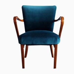 Armchair in Velvet from Thonet, 1930s