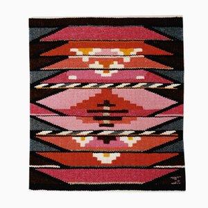 Dänischer Textil Wandteppich von Mette Birckner, 1980er