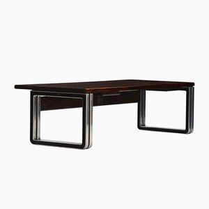 Vintage Wenge Desk by Osvaldo Borsani for Tecno