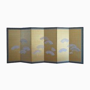 Japanischer Meiji Showa Epoche Wandschirm