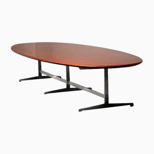 Vintage Dining Table in Wenge by Arne Jacobsen for Fritz Hansen