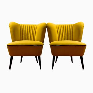 Banana Cocktail Chairs, 1960s, Set of 2