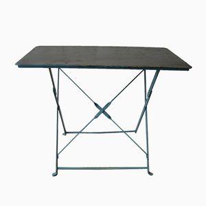 Industrial Steel Folding Garden Table, 1950s