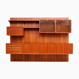 Mid-Century Teak Royal System Shelving Unit by Poul Cadovius for Cado