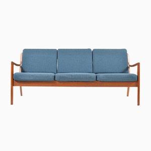 Senator 3-Seater Sofa in Teak by Ole Wanscher for France & Søn, 1960s