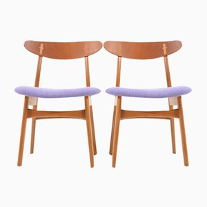 Wegner Stühle dining chairs sets by hans j wegner at pamono
