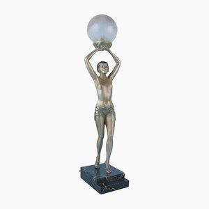 Art Deco Lamp by Enrique Molins-Balleste, 1920s