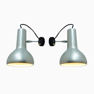 Vintage Model 7 Wall Lamps by Gino Sarfatti for Arteluce, Set of 2