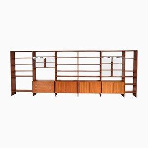 Large Danish RY100 System Cabinet by Hans J. Wegner for RY Mobler, 1960s